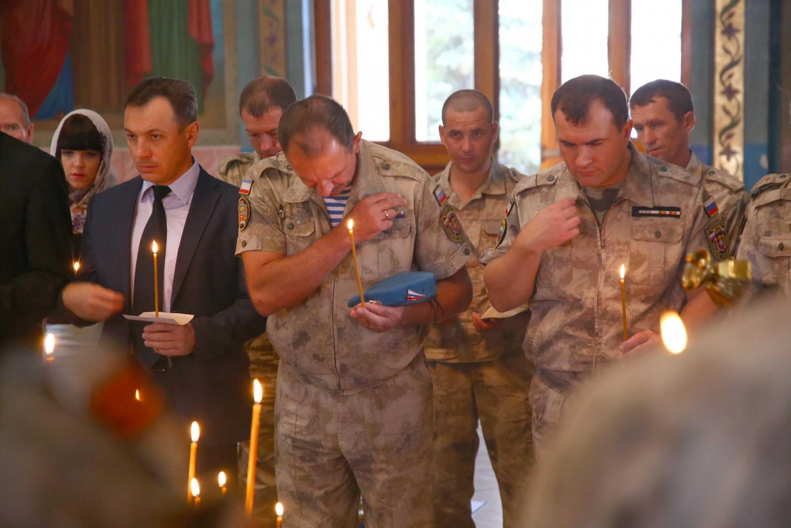 В Симферополе состоялась панихида по невинно убиенным детям в Беслане